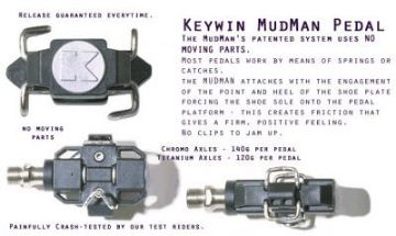 Picture of Keywin Mudman MTB Pedals