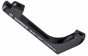 Picture of Shimano SM-MA Adaptors Flat Mount to Postmount Brake and fixing bolts