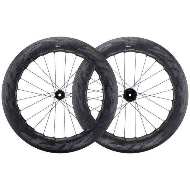 Изображение ZIPP 858 NSW Carbon Clincher Disc-Brake Wheelset