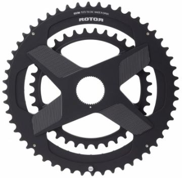 Изображение Rotor ALDHU 3D+ Direct Mount, Spidering, Double Chainring